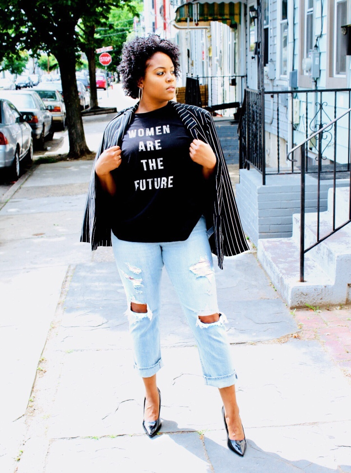 Styling a $10 Blazer and $6Shoes